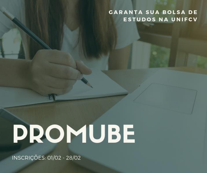 PROMUBE oferece bolsas de estudos para estudantes de Maringá; Confira edital da UNIFCV