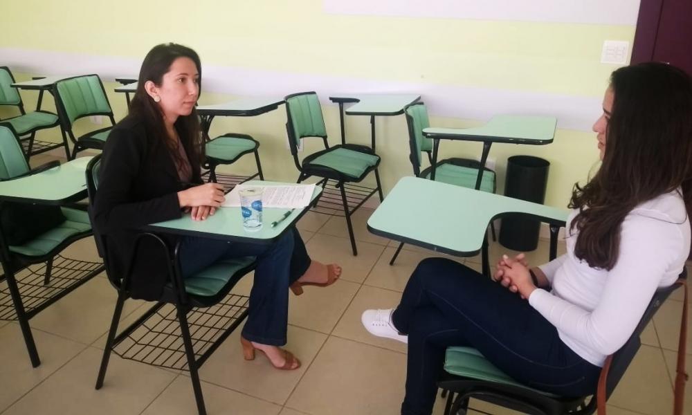 Processo Seletivo Simulado da UNIFCV ajuda a preparar os alunos para uma entrevista de emprego