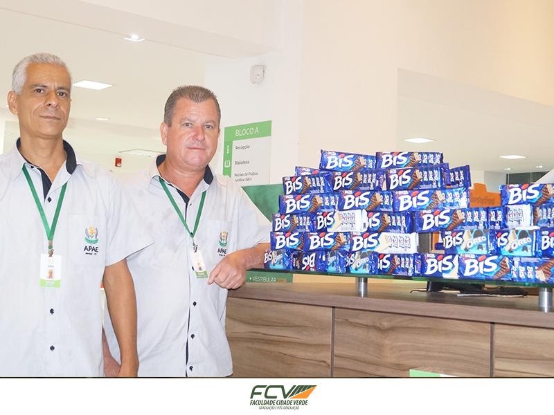 Campanha de Páscoa arrecada e distribui quase 1.400 caixas de chocolate