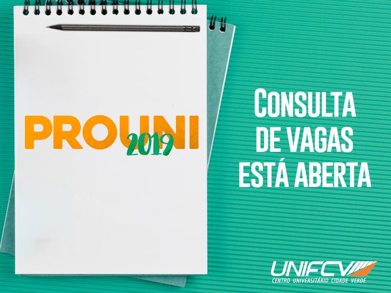 Consulta de vagas do Prouni já está disponível