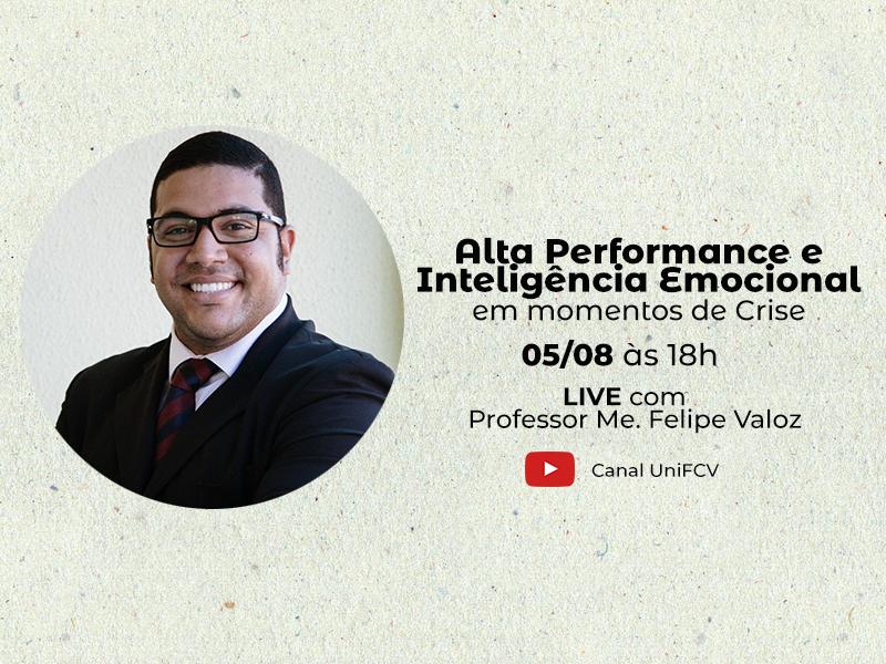 Live: Alta Performance e Inteligência Emocional em momentos de Crise