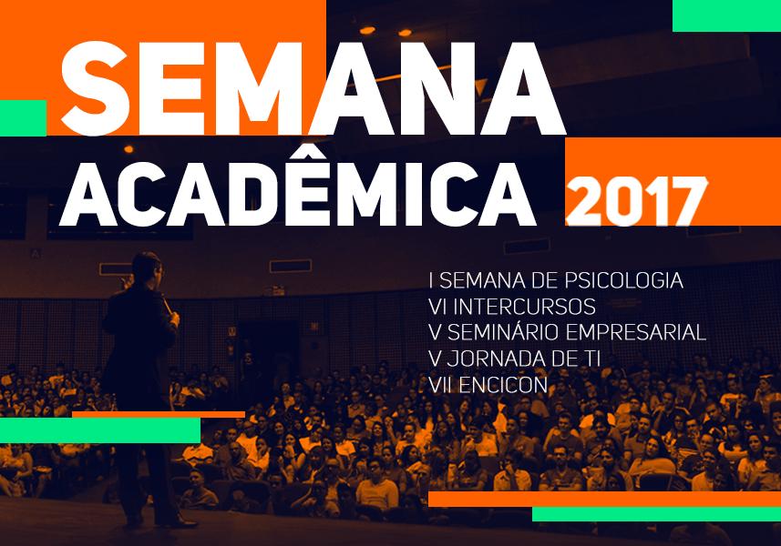 Semana Acadêmica 2017   EMISSÃO DE CERTIFICADO