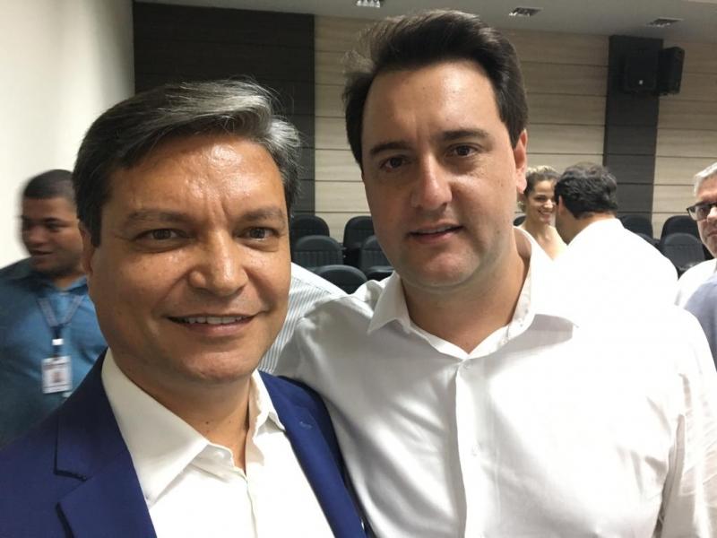 Reitor da UNIFCV participou de reunião com Governador Ratinho Junior