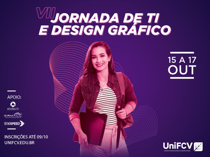 VII Jornada de TI e Design Gráfico - EMISSÃO DE CERTIFICADO