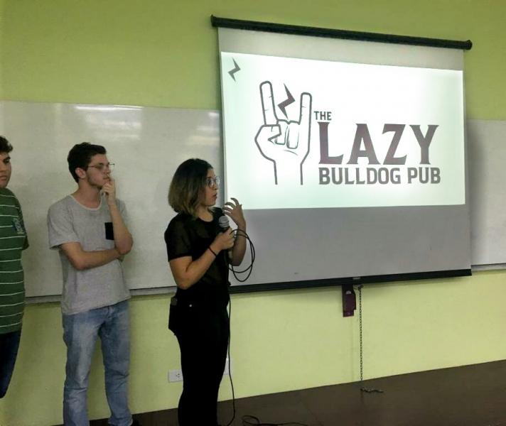 Alunos de Marketing e Design da UNIFCV participam de concurso de identidade visual Lazy Bulldog