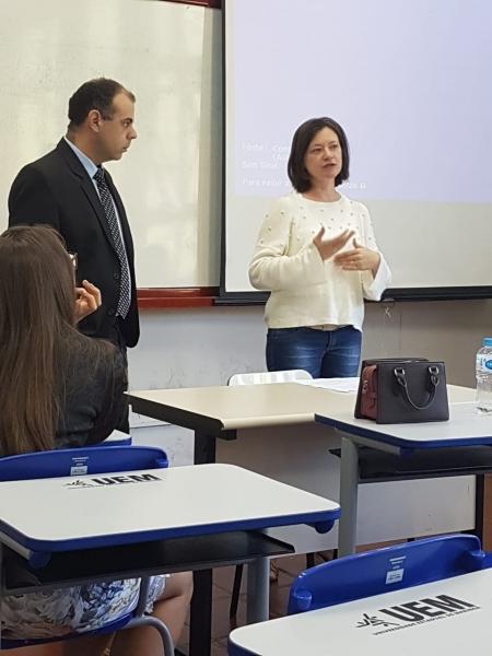 Professora de Direito apresenta trabalho no I Congresso Internacional de Ciências Jurídicas