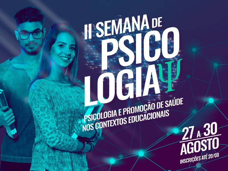 Semana de Psicologia: evento exclusivo para o curso abre inscrições