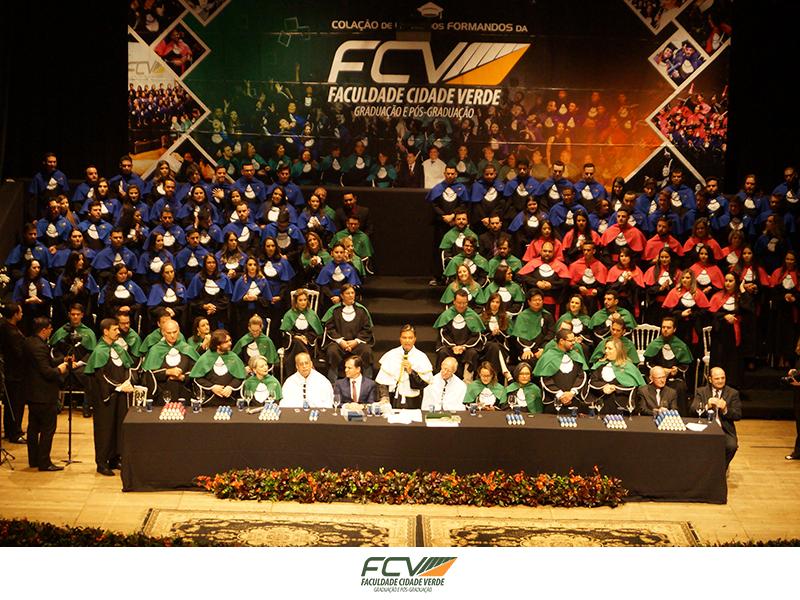 FCV realiza sua 19ª Colação de Grau