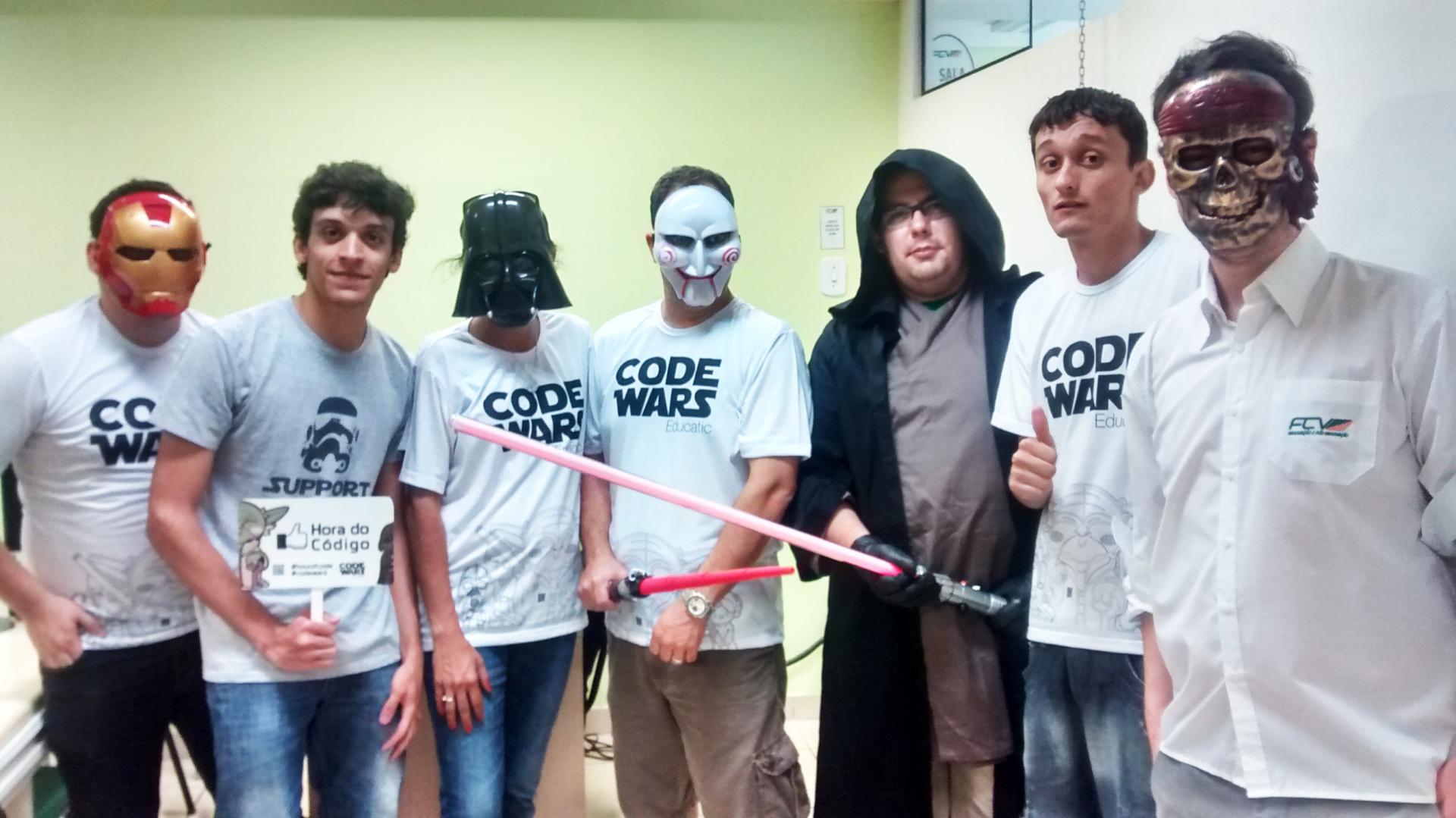 FCV sedia Semana do Código