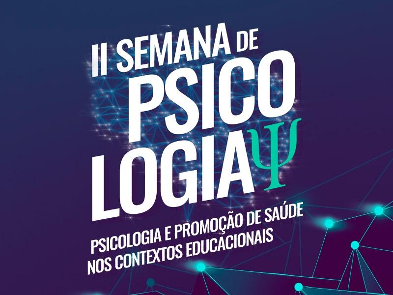 II Semana de Psicologia    EMISSÃO DE CERTIFICADO