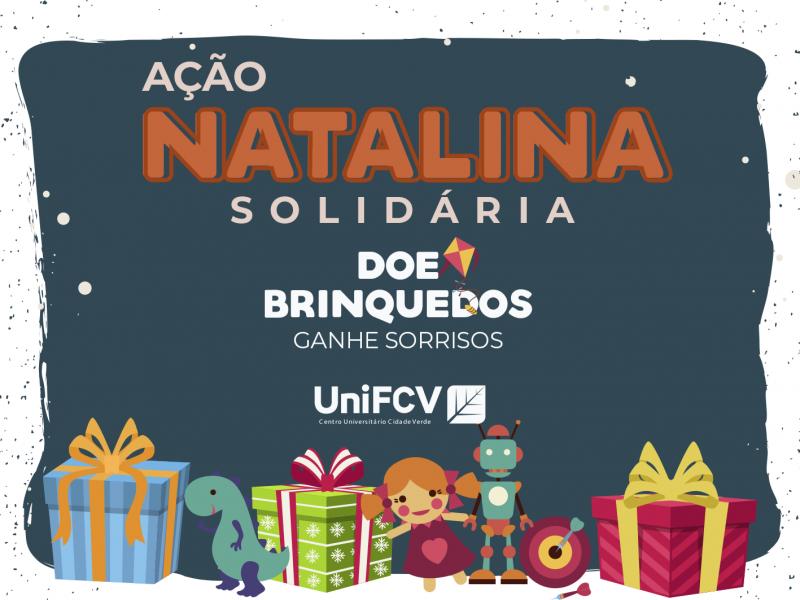 UniFCV realiza campanha de arrecadação de brinquedos