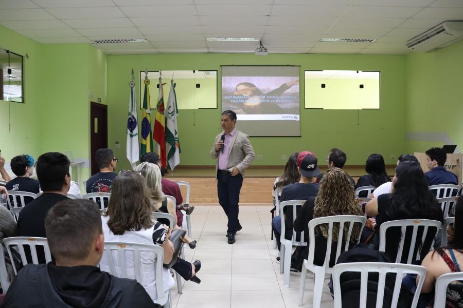 UniFCV realiza a Semana de Integração a Vida Acadêmica para calouros da instituição