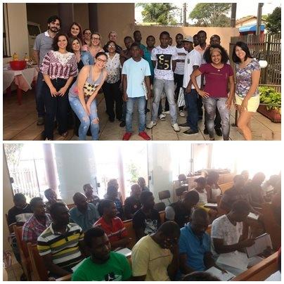 """Projeto """"Integrando Povos"""" promove ensino da língua portuguesa para haitianos em Maringá"""