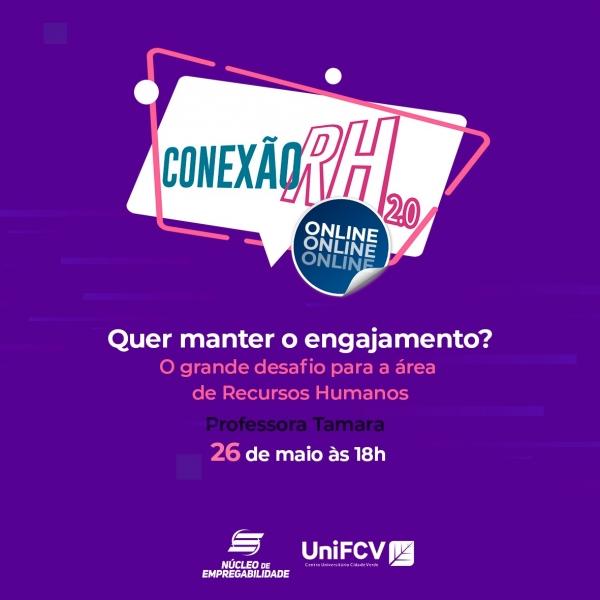 UniFCV promove edição especial do Conexão RH