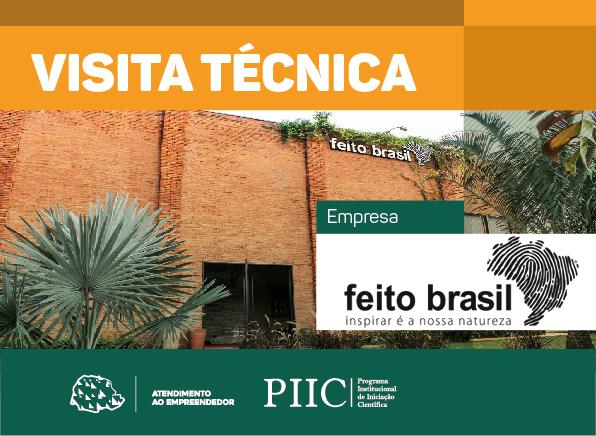 Visita Técnica - Feito Brasil Cosméticos Artesanais
