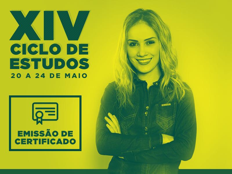 XIV Ciclo de Estudos - EMISSÃO DE CERTIFICADOS
