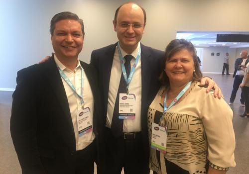 Reitor da UNIFCV marca presença no maior evento de educação e tecnologia da América Latina
