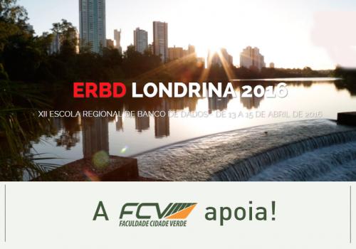 FCV patrocina evento sobre banco de dados em Londrina