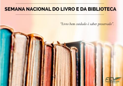 Começa a Semana Nacional do Livro e da Biblioteca