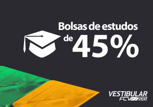Trabalho voluntário garante bolsas de estudos de 45% na FCV