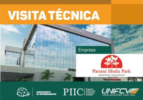 UNIFCV faz pela primeira vez visita técnica no shopping Paraná Moda Park