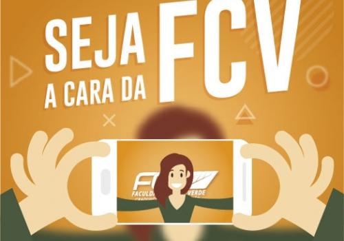 Seja a Cara da FCV: Campanha selecionará alunos para ilustrar peças da faculdade