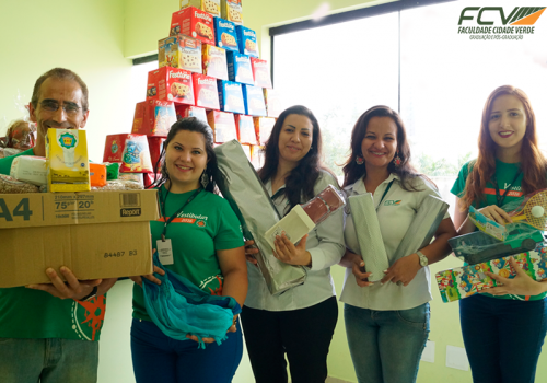 Natal Solidário: FCV e GeraAção entregam doações da campanha