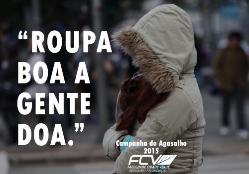 FCV promove Campanha do Agasalho 2015