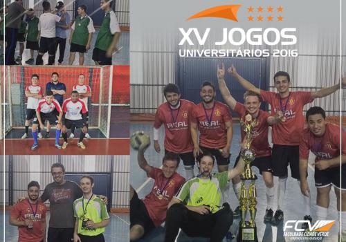 Jogos Universitários terminam e time da Contabilidade vence