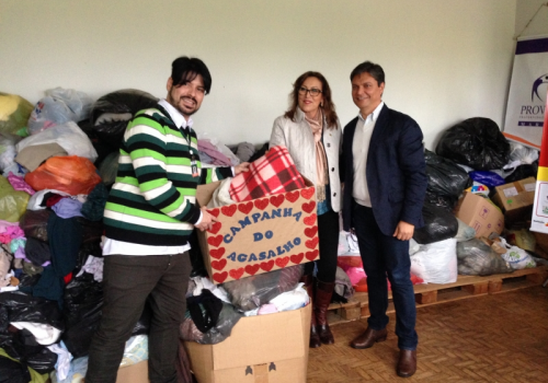 Campanha do Agasalho 2015 da FCV arrecada mais de 2,5 mil peças