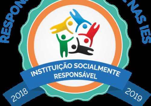 FCV recebe o Selo de Instituição Socialmente Responsável