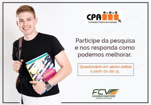 CPA começa segunda fase da autoavaliação da FCV