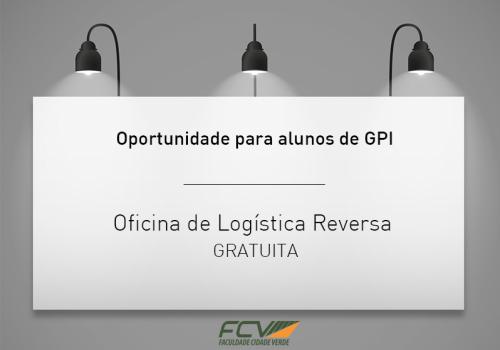 Inscrições abertas para oficina na área de GPI