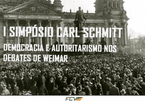 Abertas inscrições para Simpósio Carl Schmitt