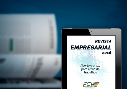 Chamada de trabalhos para a Revista FCV Empresarial