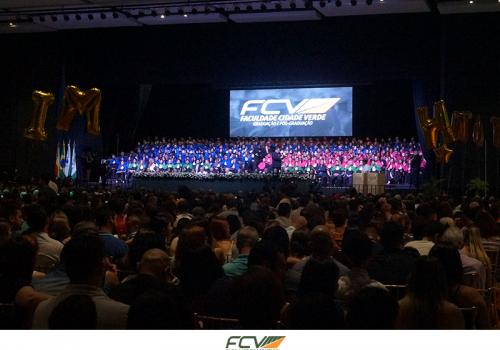 Maior Colação de Grau da história da FCV aconteceu no sábado