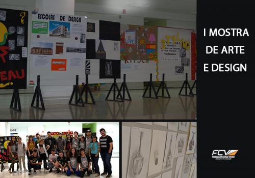 Mostra apresenta trabalhos de encerramento de semestre do curso de Design