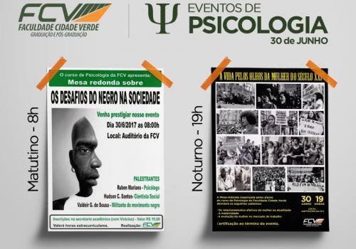 Alunos de Psicologia promovem eventos nesta sexta-feira