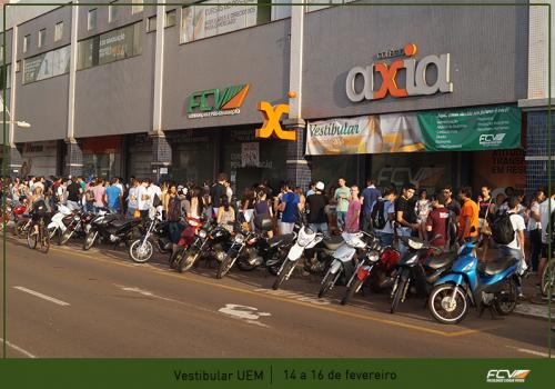 FCV recebe 1.725 candidatos no vestibular da UEM