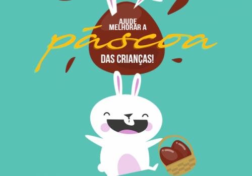 Começa campanha de arrecadação de chocolates para a Páscoa