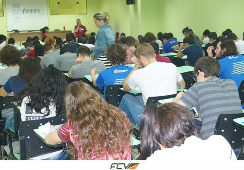FCV recebe 1.650 candidatos do vestibular UEM