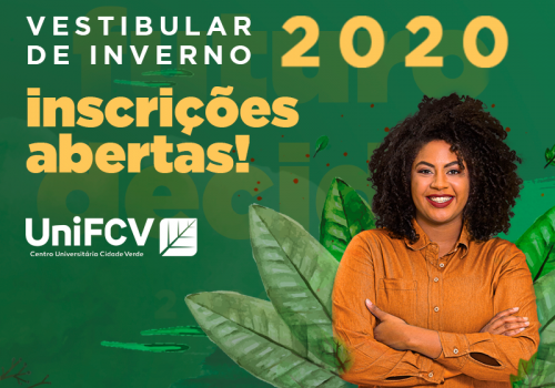 Vestibular de Inverno 2020 UniFCV