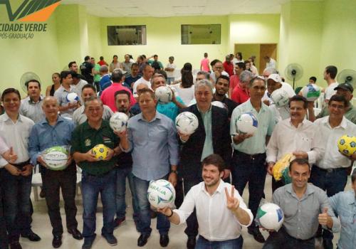 Encontro Regional da Secretaria do Esporte acontece na FCV
