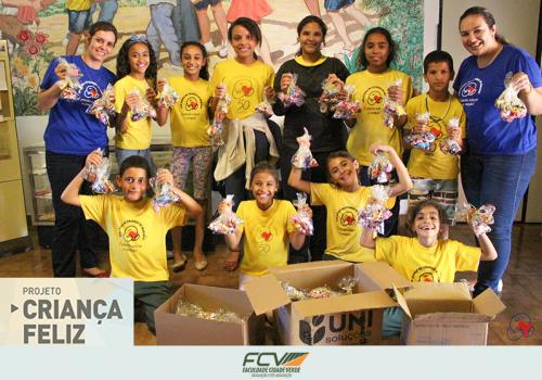 Criança Feliz: campanha arrecadou quase 1.500 itens