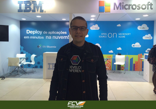 Professor FCV palestrou no The Developers Conference