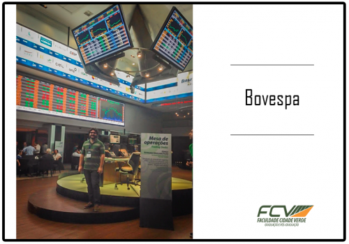 Professor da FCV está em curso na Bovespa-SP