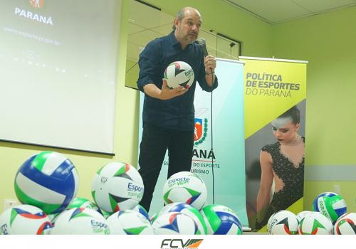 Projeto Esporte para Toda Vida é lançado na FCV pelo secretário estadual de esporte