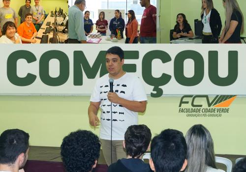 FCV abre sua Mostra de Trabalhos e Profissões. Evento é gratuito e aberto à população
