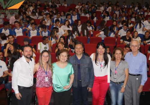 FCV participa de evento para alunos da rede pública