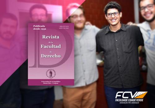 Aluno de Direito publica artigo em revista uruguaia
